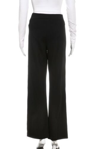 Pants Eileen lunghi Bootcut piccolo pantaloni Fisher gamba fondo dritta nero 88w51rOxq