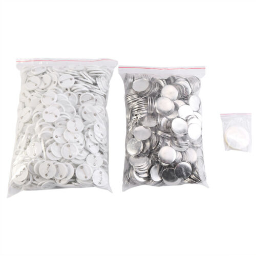 Steel 25mm 32mm 58mm Button Maker Badge Punch Press Machine+1000 Set of Dies UK
