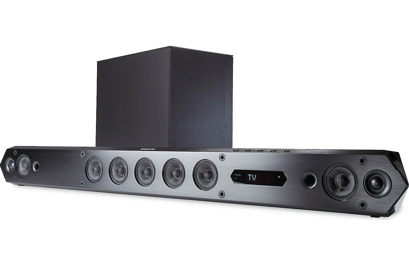 Sony HT-ST7 Powered home theater sound bar with 7.1-channel surround sound-$1299. Buy it now for 699.99