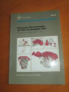 Mercedes-Service-Neuerungen-PKW-1993-94-W-124-129-140-M-103-104-OM-605