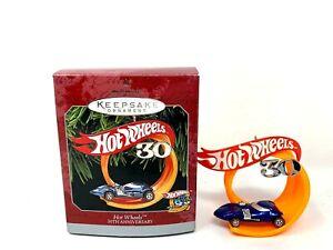 Hallmark-Keepsake-Ornament-Hot-Wheels-30th-Anniversary-1998