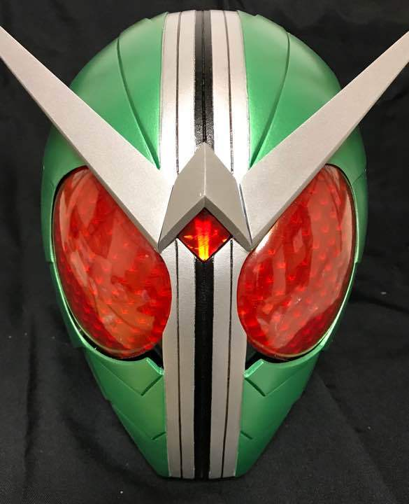 Masked Rider W 1/1 Kamen Rider Mask Japanese TV  replica from Japan F/S