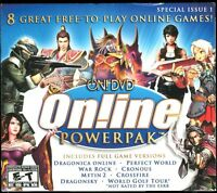 On Dvd Online Powerpak Pc Video Game Jewel Case W Slipcover Brand & Sealed