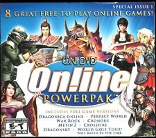 On! DVD On!line Powerpak PC Video Game Jewel Case w Slipcover Brand New & Sealed