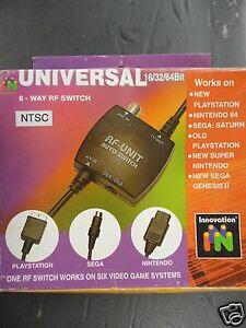 Genesis II Nintendo 64 N64 SNES Sega Saturn PSX PS1 PS2 AV