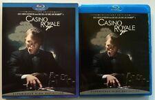JAMES BOND 007 CASINO ROYALE BLU RAY COLLECTORS EDITION + RARE OOP SLIPCOVER