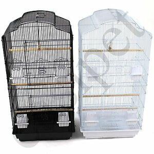 Large-Metal-Bird-Cage-Budgie-Canary-Parakeet-Cockatiel-Finch-Lovebird-Tall-Cages