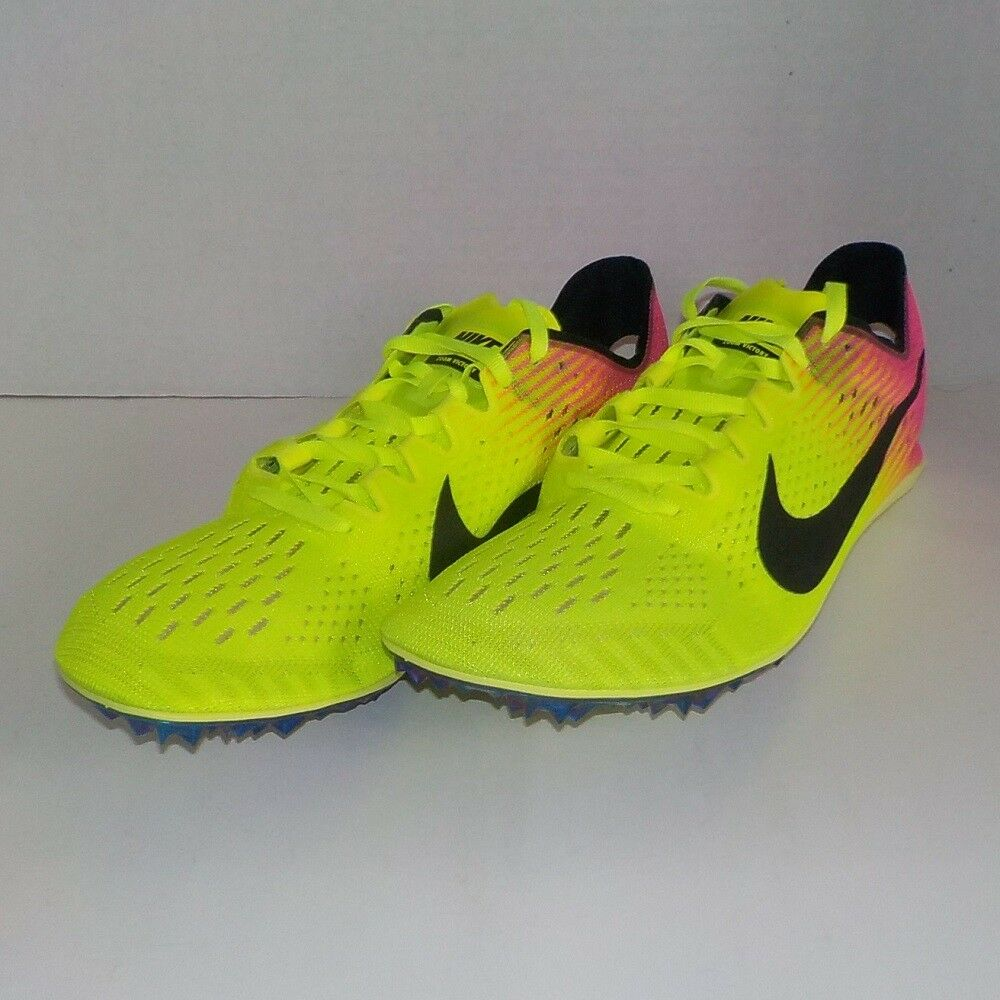 Nike VICTORY 3 Distance Track Shoes RIO OC 835997 999 MEN 10.5 +Spikes SRT & Bag