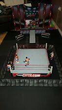 WWE WWF CUSTOM MADE FULL SURROUND BARRICADES FOR WRESTLING FIGURES