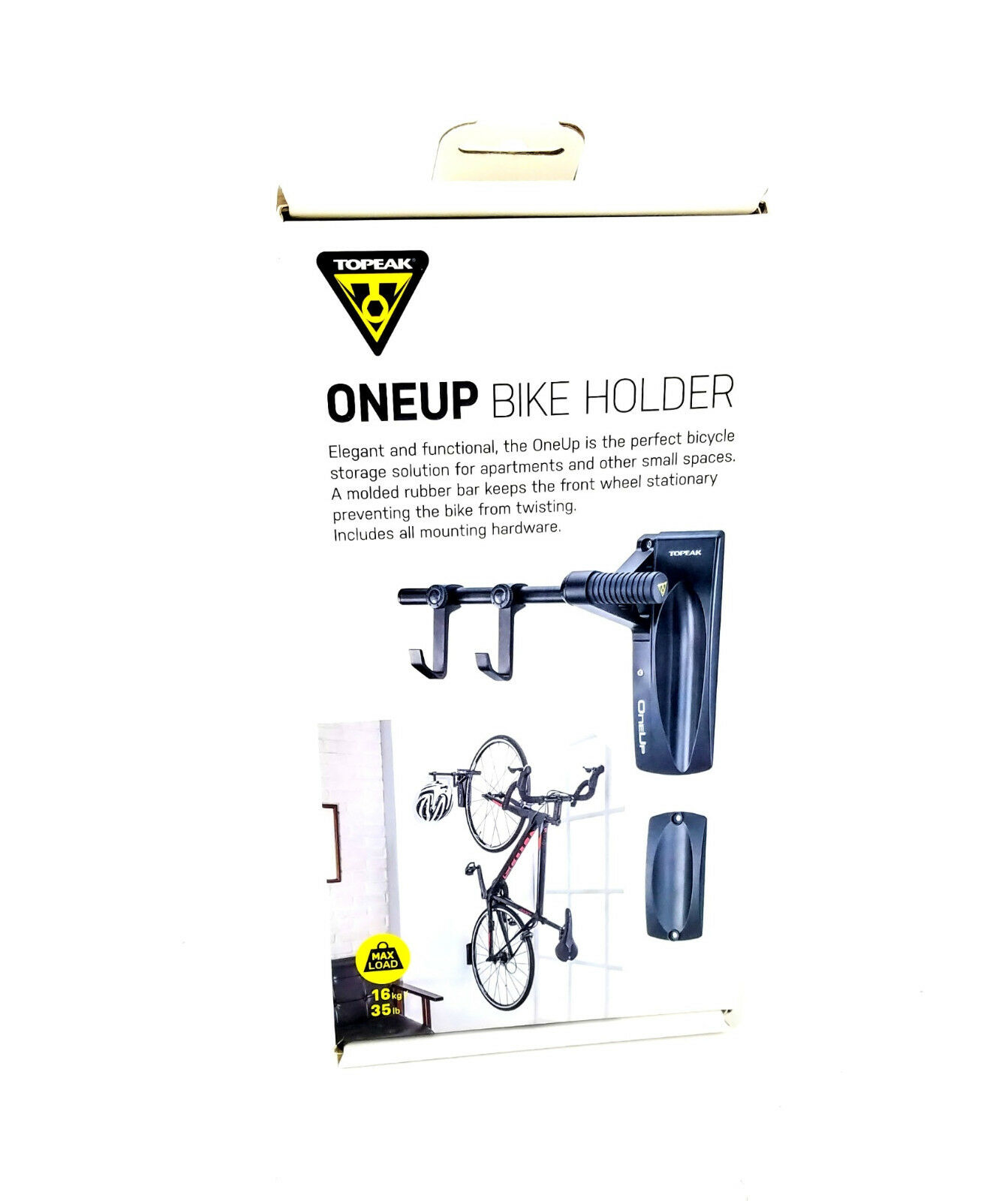 Topeak OneUp Wall-Mount Bike Holder - Single-Bicycle Storage  System  waiting for you
