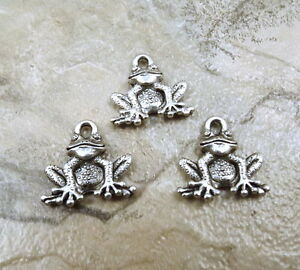 Set-of-Three-3-Pewter-Frog-Charms-5026