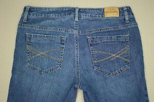 Aeropostale-Bayla-Skinny-Jeans-Women-039-s-Size-4-Short-Medium-Wash-Denim