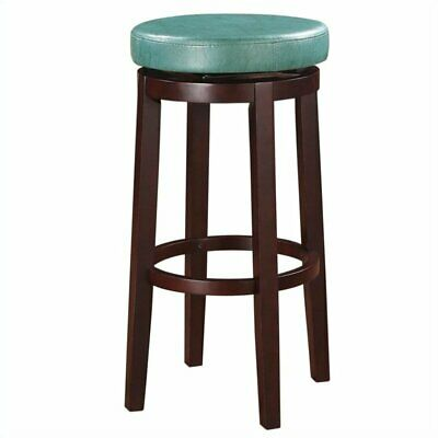 Fabulous Riverbay Furniture 29 Faux Leather Swivel Bar Stool In Teal Ebay Ocoug Best Dining Table And Chair Ideas Images Ocougorg