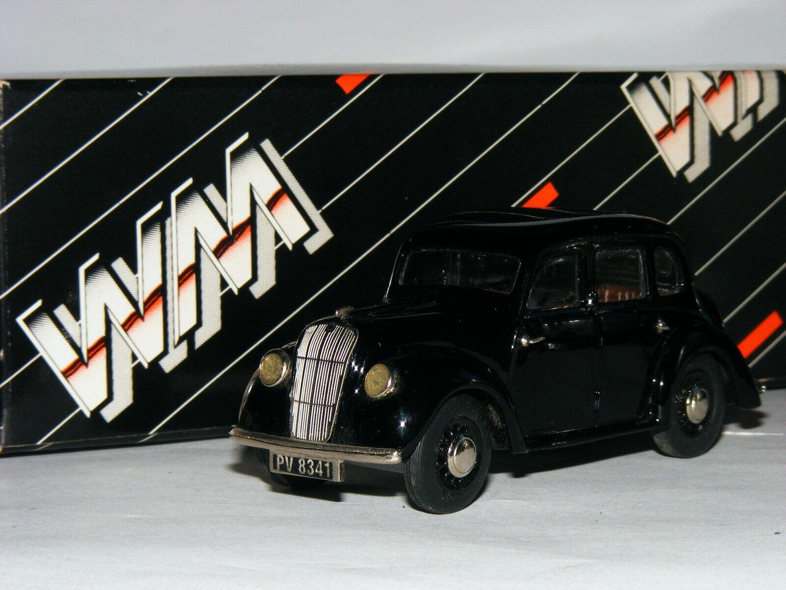Western Models WMS85 1947 Morris 8 Série E berline noir 1 43