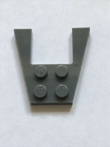 Lego 43719 Wing 4x4 with 2x2 Cutout Dark Grey