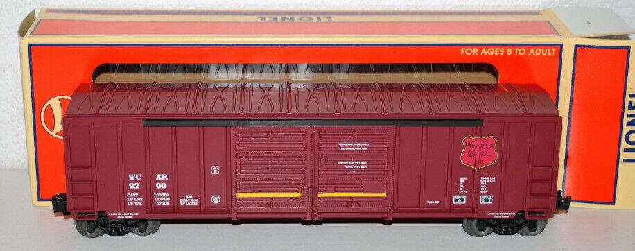 Lionel 6-17231 9200 Wisconsin Central Dbl Door Boxcar w  Auto Frames