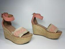 42450584ce2b58  80 size 7 Tommy Hilfiger Terin Light Melon Wedge Platform Espadrille  Sandals