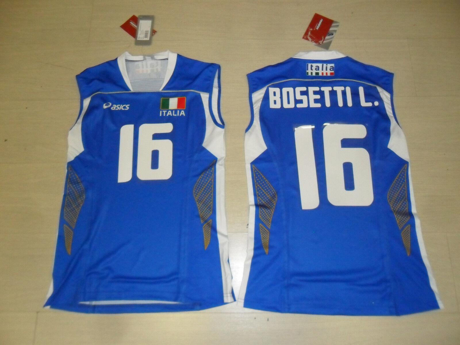 GRÖßE L BOSETTI L. L. L. FIPAV ITALIEN ITALY VOLLEYBALL T-SHIRT OLYMPIADE DAMEN c6d954