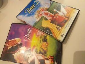 Dvd-LOTE-BABE-1-Y-2-MUY-BUENAS-PARA-NINOS