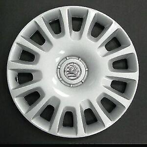 """14/"""" Wheel trims fit Vauxhall Corsa black Alloy look"""