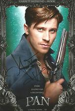 Garrett Hedlund Signed PAN 12x8 Photo AFTAL OnlineCOA PETER PAN