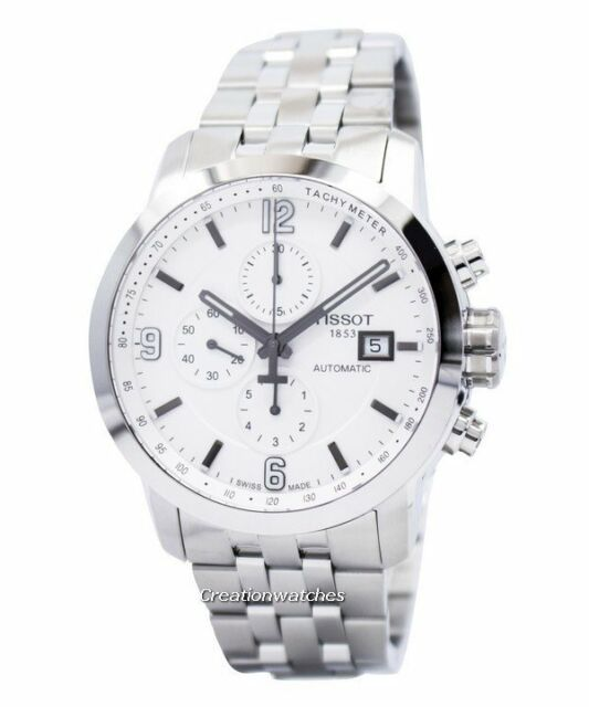 df1805e378b BRAND NEW TISSOT PRC200 AUTOMATIC STAINLESS STEEL MENS WATCH   T055.427.11.017.00
