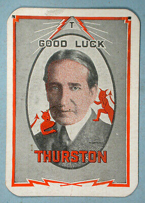 1928 Thurston The Magician Token Medal Good Luck Charm