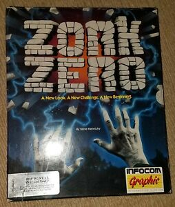 Details About Infocom Zork Zero Game Ibm Pc Xt At Ps 2 Tandy Computers 5 25 3 5 Disks