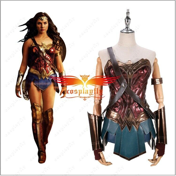 Justice League Cosplay Wonder Woman Diana Prince Costume Full Suit For Sale Online Ebay