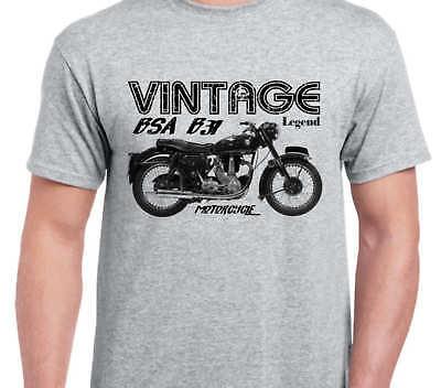 BSA A65 B31 C15 a7 a10 Inspiré Vintage Moto Classique Vélo shirt tshirt