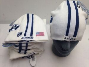 44aac9dde Lot Of 12 BYU Football Helmet Beanie Hat Winter Skull Cap NCAA Skins ...