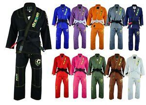 Inquiet Brazilian Jiujitsu Gi Adultes Enfants Kimono Brazilian Jiu Jitsu Grappling Uniforme Veste Et Pantalon-afficher Le Titre D'origine