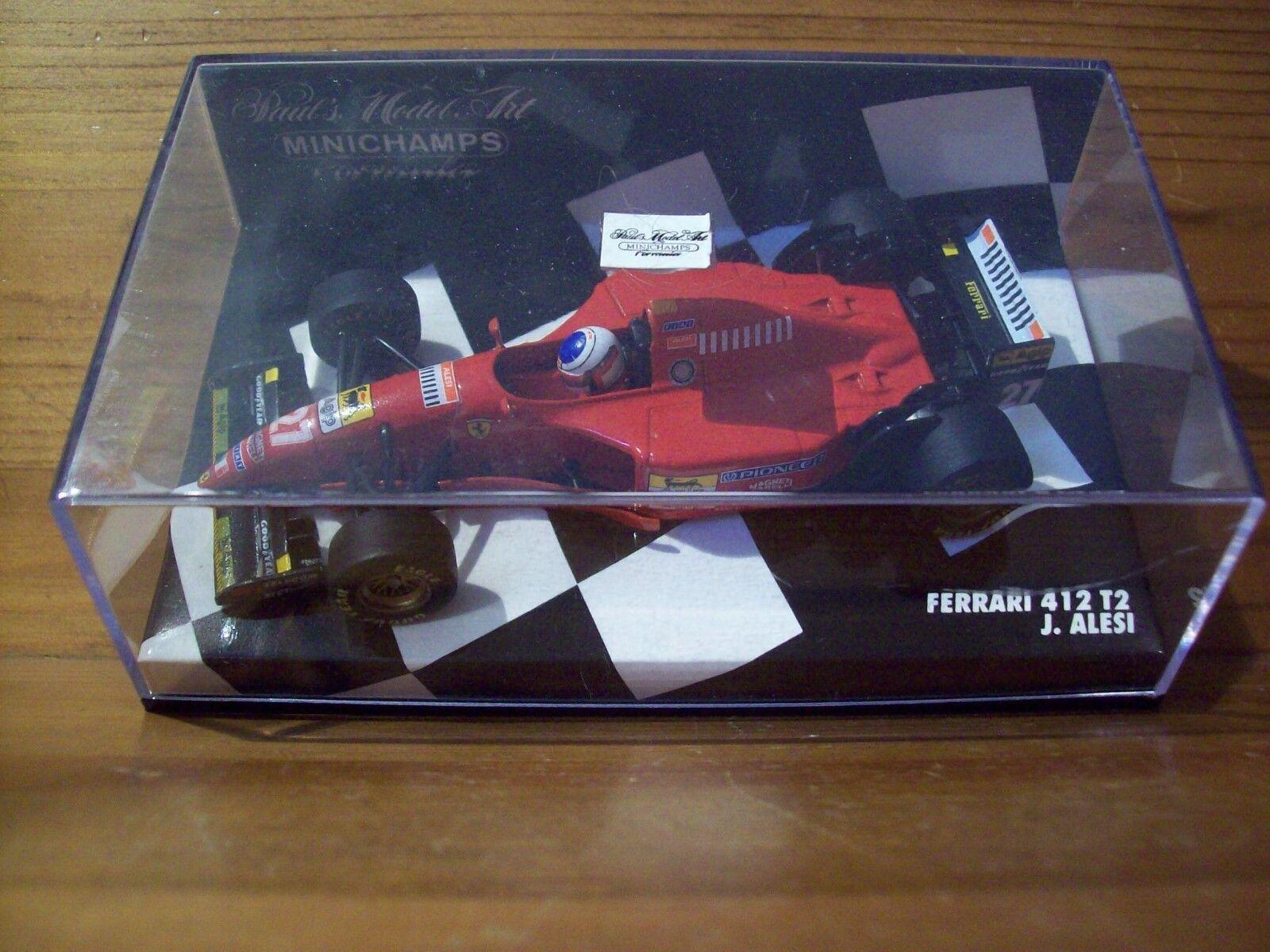 Cadeau spécial à vous spécial 1/43 1/43 1/43 FERRARI 412T2 1995 Jean Alesi | Impeccable  f4076f