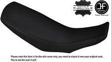 BLACK STITCH CUSTOM FITS HONDA CRF 250 L 12-16 DUAL LEATHER SEAT COVER