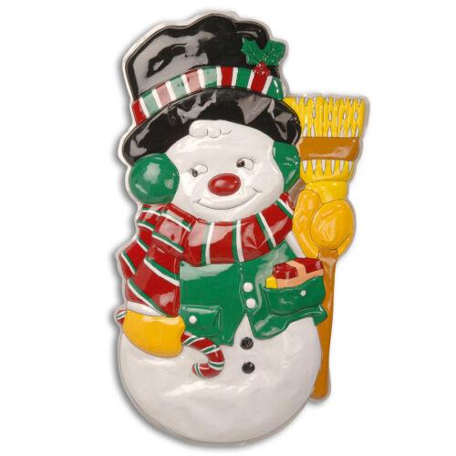 Weihnachtswandbild Claus ventana imagen Nikolaus pared decorativa fensterdeko