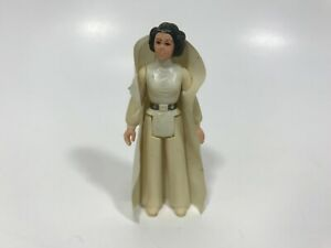 Vintage 1977 Kenner Star Wars Figure Princess Leia Organa Hong Kong No Weapon