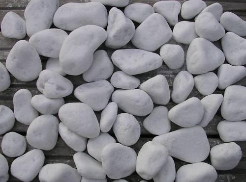 résistant à la chaleur x50 Galets blanc décoratifs pour cheminée BIO ETHANOL