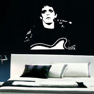 Detalles De Gran Lou Reed Cocina Dormitorio Mural De Pared Arte Adhesivo Gráfico Calcomanía Matt Vinilo Ver Título Original