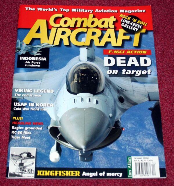 Combat Aircraft Magazine 8.6 Viggen,O2-U,S-3 Viking,Indonesia,F-16