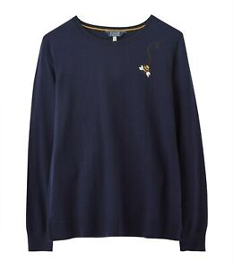 Joules-Tina-Crew-Neck-Jumper-Navy-Bee-Now-With-30-Off