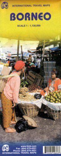 Borneo 1:1,130,000 Travel Map (Indonesia) (International Travel Maps)