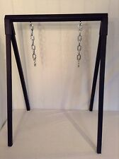 SHOOTERS A-Frame Hanging Steel Target Stand Heavy Duty GONG Holder Quick  Setup