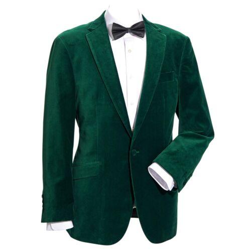 """Samuel Windsor Mens Velvet Jacket Blazer Formal Dinner Wear 38-50/"""" Clothing NEW"""