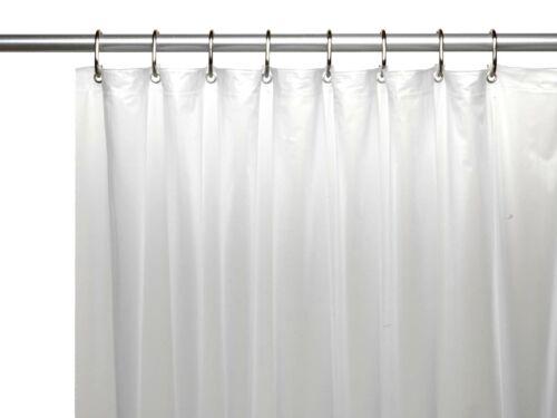 Heavy Duty Antibacterial Mildew Resistant Magnetic Bath Tub Shower Curtain Liner