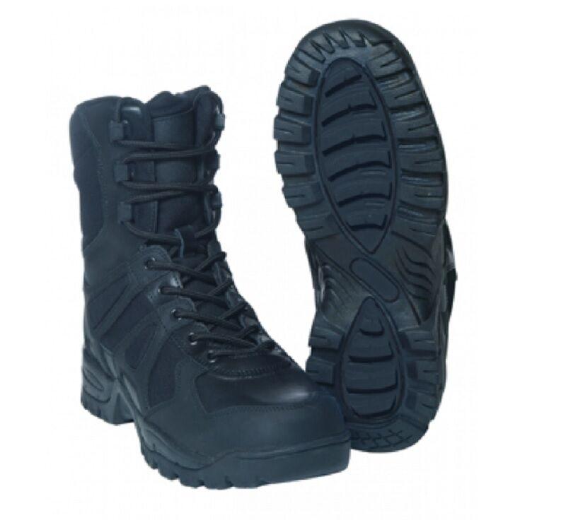US TACTICAL Lichtwight laarzen Army Freizeit SBindenfel zwart schwarz Gr. 45