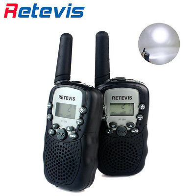 Christmas Kids Gift 2pcs Retevis UHF 0.5W Flashlight CTCSS/DCS Two-Way Radio US