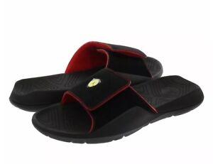f3bffd043e2298 Jordan Hydro 7 Men s Slides AA2517-003 Black Red Size UK 7 EU 41 US ...