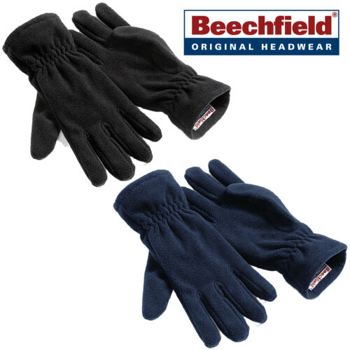 Beechfield Suprafleece Unisex Adults Warm Winter Lightweight Thermal Gloves New