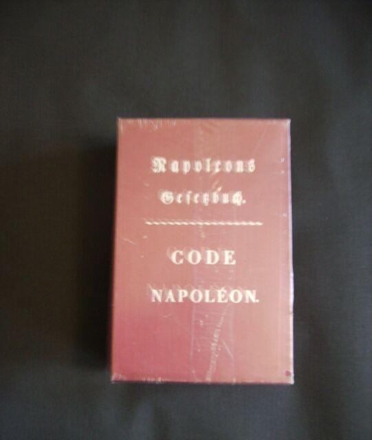 Napoleons Gesetzbuch. Code Napoleon: KD Wolff (Hrsg.)