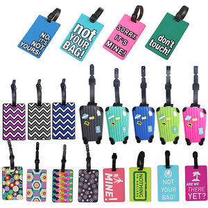 New-1PC-Silicone-Personalized-Travel-ID-Luggage-Suitcase-Bag-Tags-Identify-Label